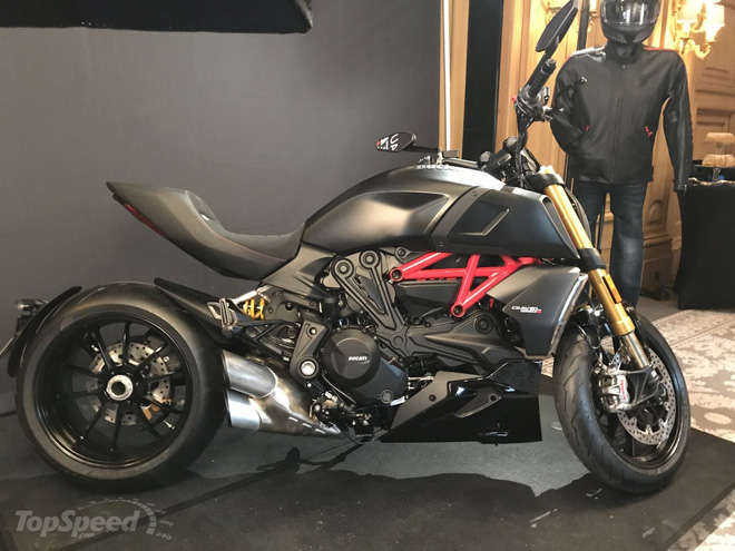"""ma toc do"" ducati diavel 1260 s lo dien, xung danh super cruiser cua the ky hinh anh 2"