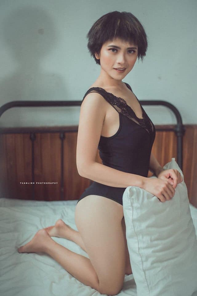 """em gai cong ly"" khoe anh doi thuc sexy hon dut ""ly cave"" hinh anh 5"