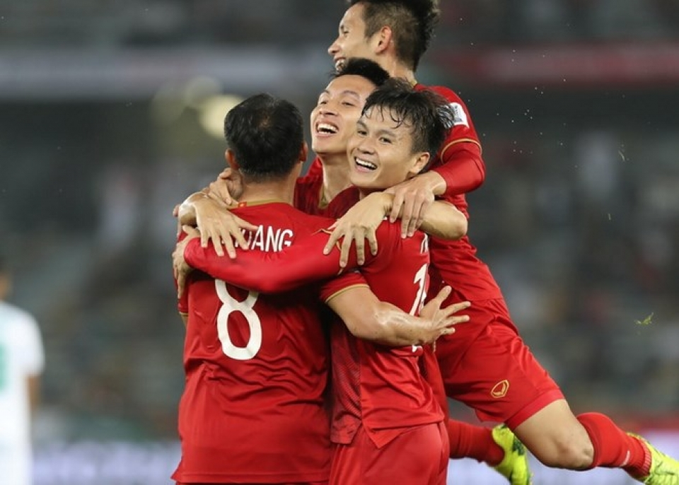 danh sach 16 doi gianh ve vao choi vong 1/8 asian cup 2019 hinh anh 1