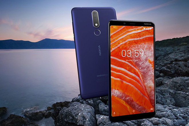 nokia 3.1 plus chay android pie xuat hien phep thu geekbench hinh anh 1