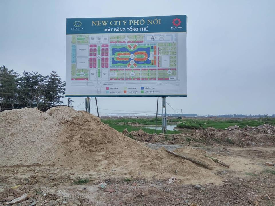 du an new city pho noi: cham dut moi hoat dong giao dich! hinh anh 1