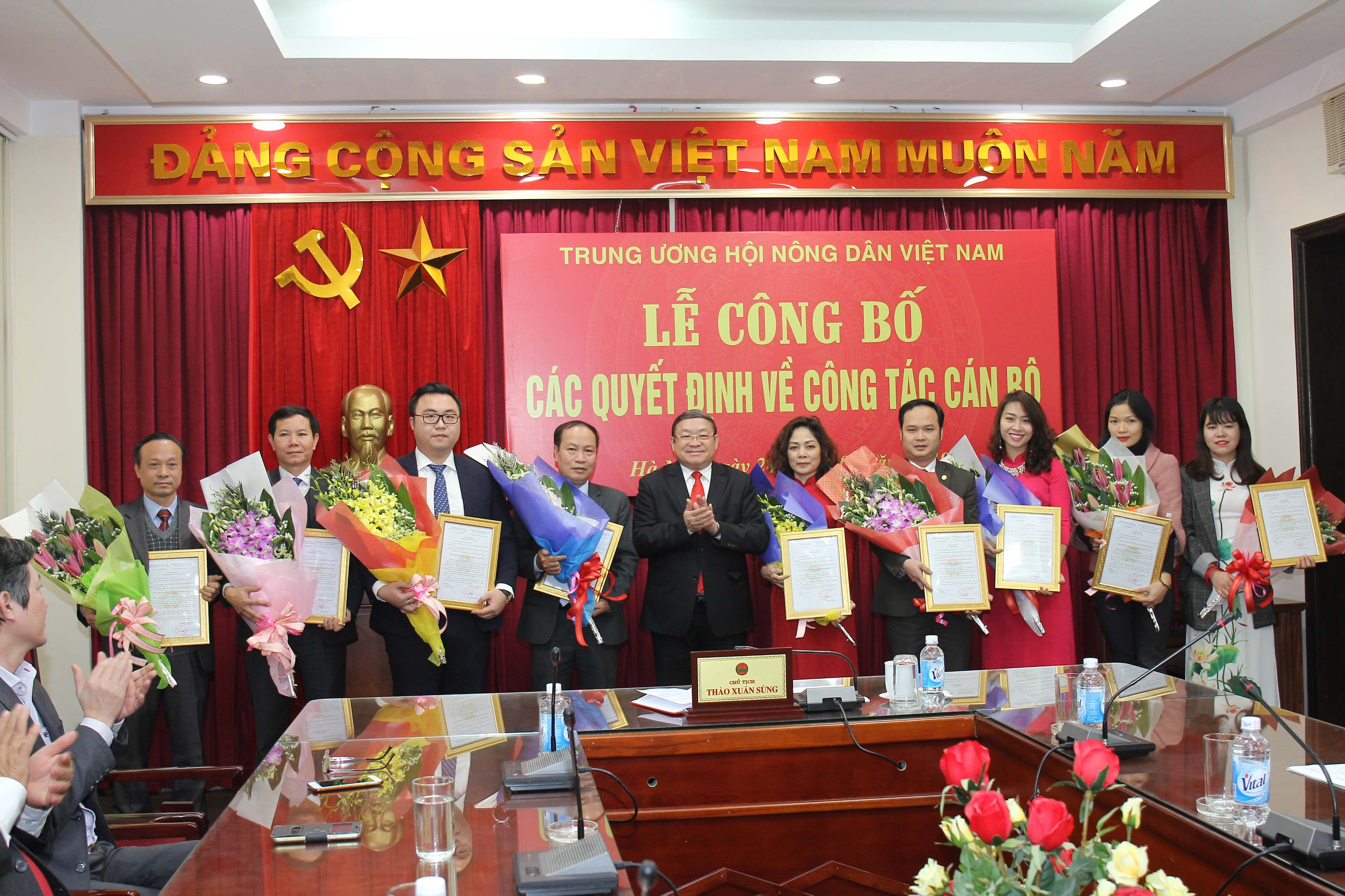 trung uong hoi ndvn: cong bo cac quyet dinh ve cong tac can bo hinh anh 2