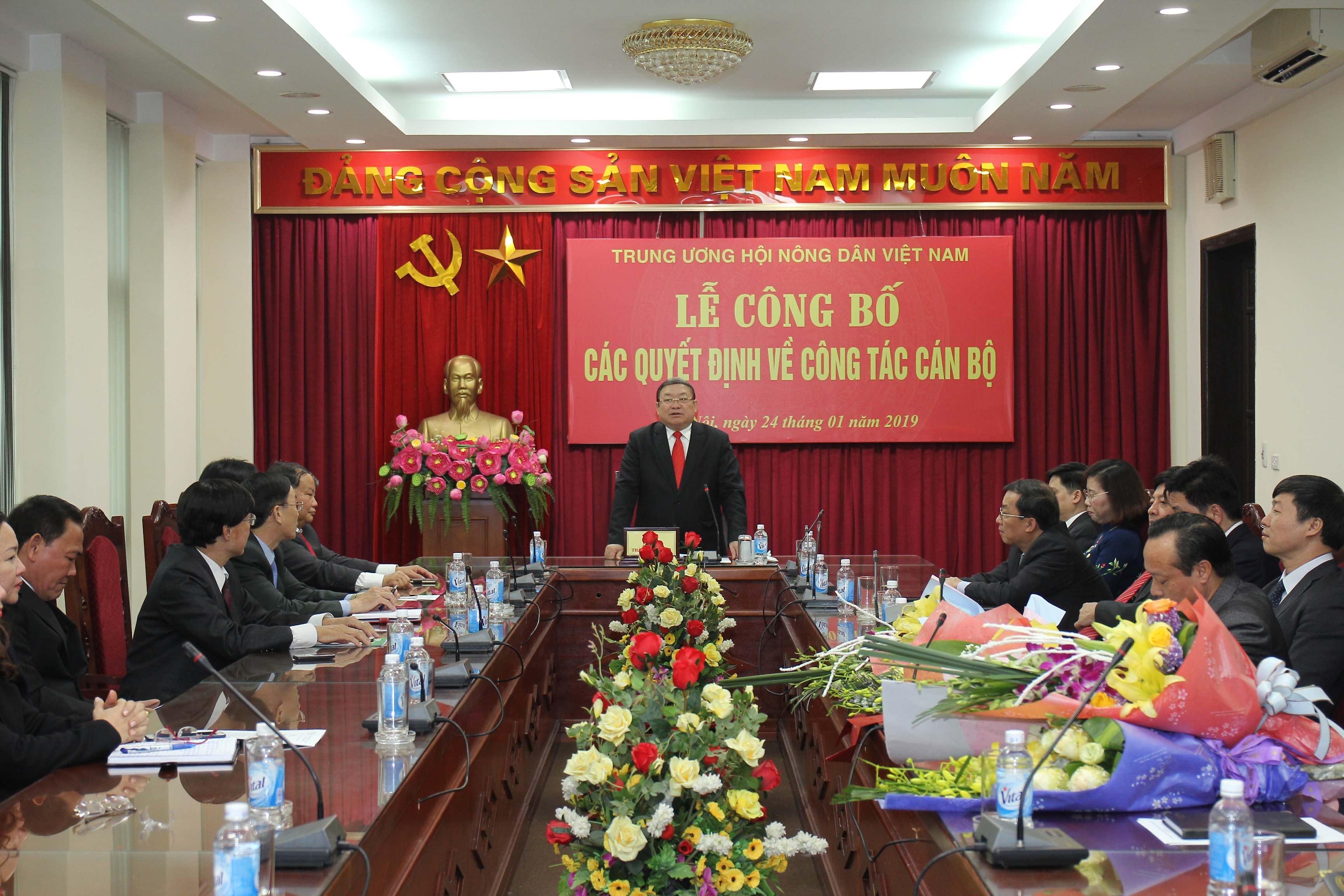 trung uong hoi ndvn: cong bo cac quyet dinh ve cong tac can bo hinh anh 1