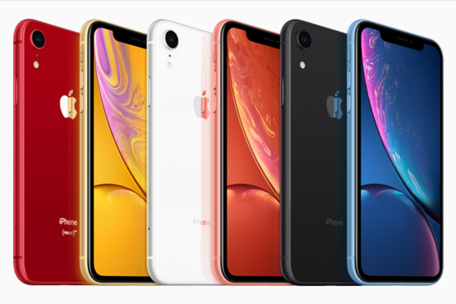 """iphone xr la chiec iphone ban """"chay"""" nhat quy 4 2018 hinh anh 1"""