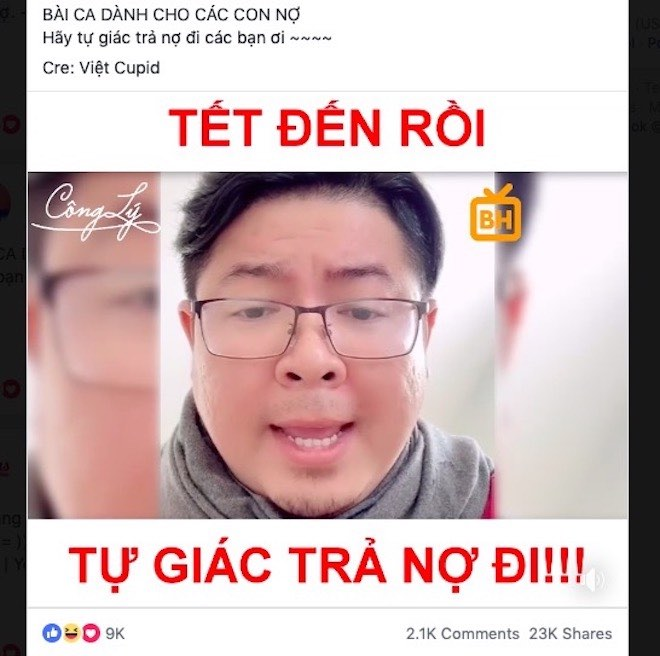"can tet, dan mang len facebook khoc than: ""doi no ma cu nhu... an xin"" hinh anh 5"