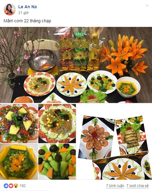 chi em khoe hang loat mam co cung ong tao ve troi hinh anh 1
