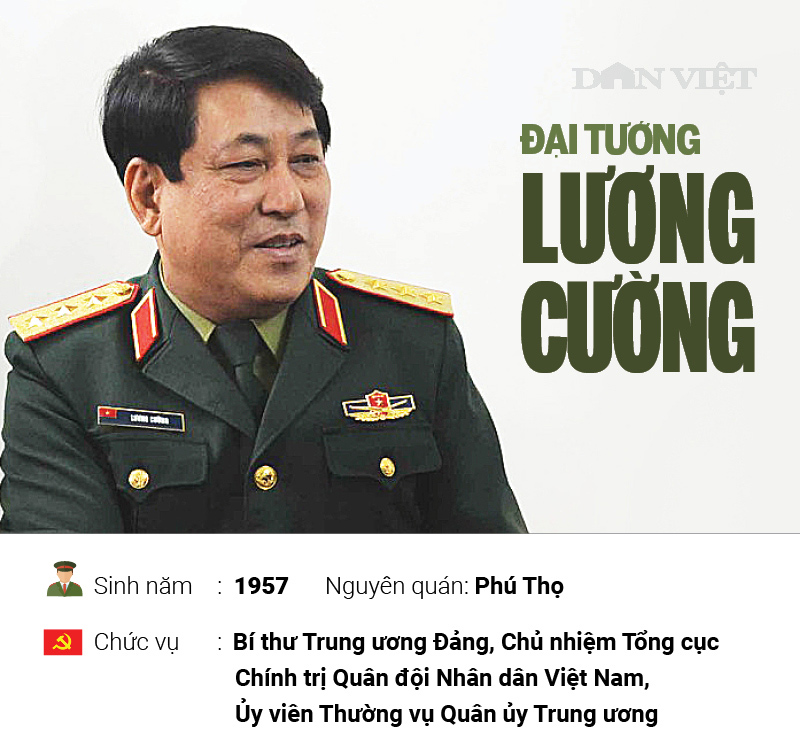 infographic ve su nghiep cua dai tuong luong cuong hinh anh 1