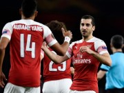 The thao - CLIP: Arsenal tan cong nhu vu bao, nguoc dong BATE vao 1/8 Europa League