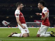 The thao - Ket qua luot ve vong 1/16 Europa League: Arsenal thoat hiem, Inter dai thang