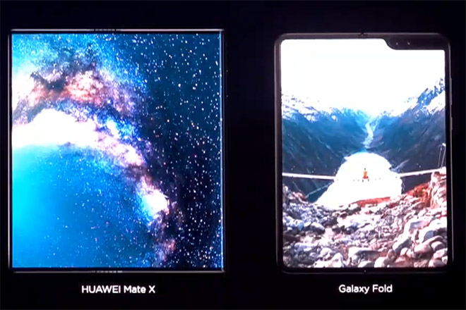 huawei mate x va galaxy fold: ai la ong vua smartphone co the gap lai? hinh anh 3