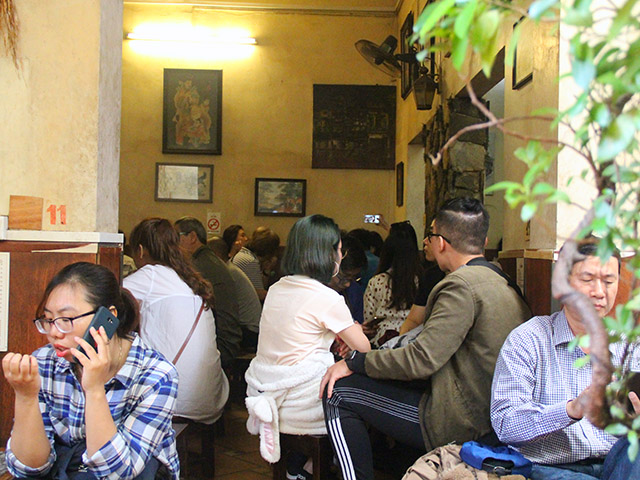 cafe giang nuom nuop khach sau hoi nghi thuong dinh my - trieu hinh anh 2
