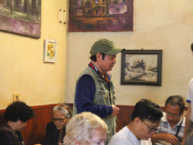 cafe giang nuom nuop khach sau hoi nghi thuong dinh my - trieu hinh anh 3