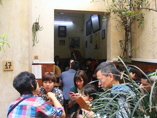 cafe giang nuom nuop khach sau hoi nghi thuong dinh my - trieu hinh anh 8
