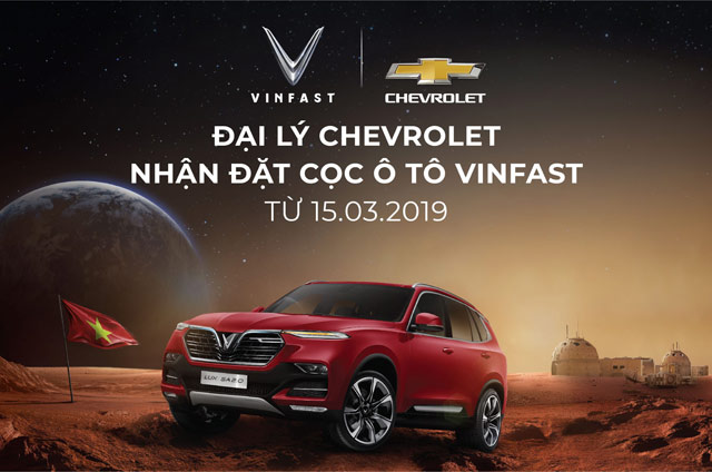 dai ly chevrolet chinh thuc nhan dat coc xe o to vinfast hinh anh 1