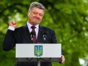 The gioi - Tong thong Poroshenko the dua Crimea, Donbas ve voi Ukraine