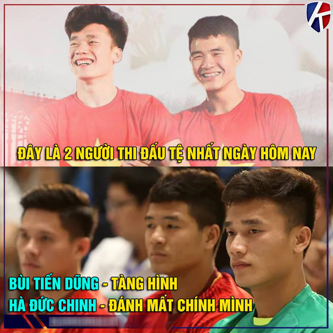 """anh che man the hien """"mo nhat"""" cua bui tien dung truoc u23 brunei hinh anh 5"""