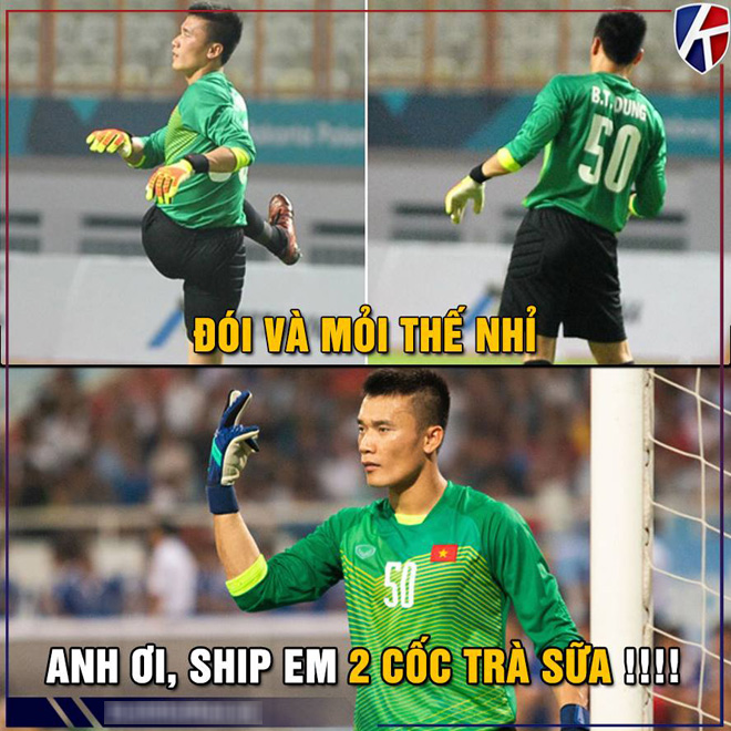 """anh che man the hien """"mo nhat"""" cua bui tien dung truoc u23 brunei hinh anh 7"""