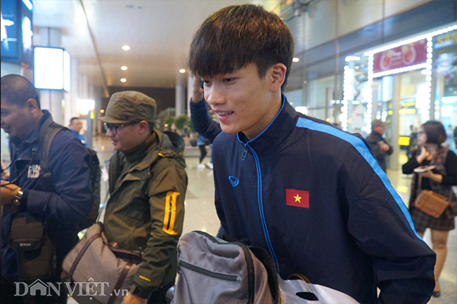 u23 viet nam ve que an tet trong vong tay chao don cua nguoi ham mo hinh anh 8