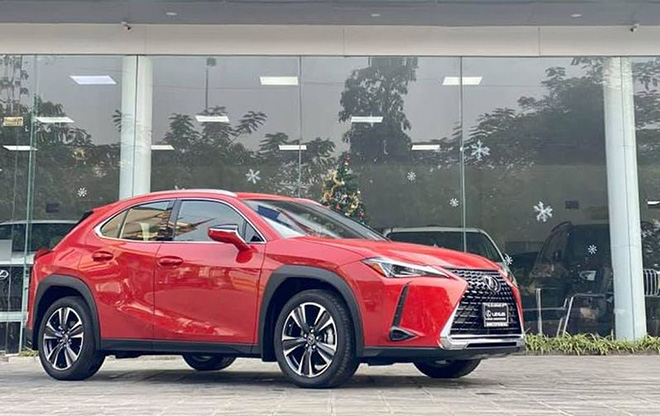 can canh lexus ux 2020 vua ve viet nam, gia khoang 2 ty dong hinh anh 2