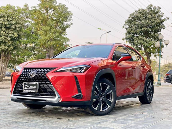 can canh lexus ux 2020 vua ve viet nam, gia khoang 2 ty dong hinh anh 1