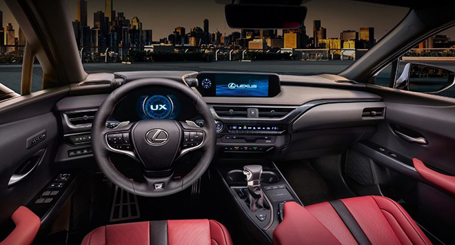 can canh lexus ux 2020 vua ve viet nam, gia khoang 2 ty dong hinh anh 6