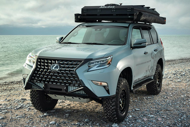 can canh gx overland - concept suv off-road sieu sang cua lexus hinh anh 1