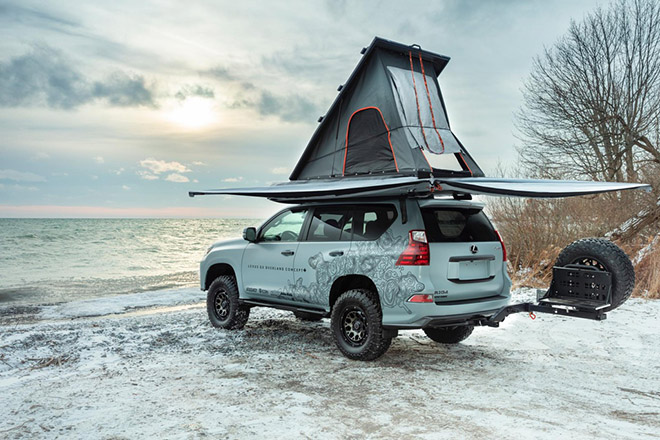 can canh gx overland - concept suv off-road sieu sang cua lexus hinh anh 7