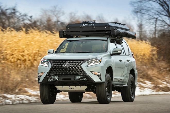 can canh gx overland - concept suv off-road sieu sang cua lexus hinh anh 9