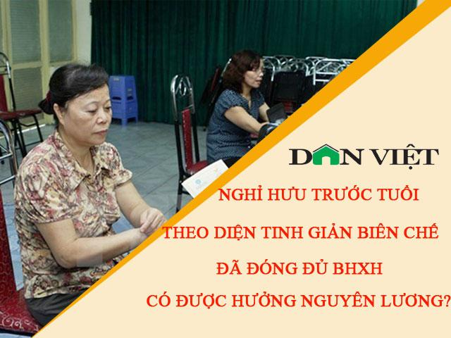 nghi huu do tinh gian bien che co duoc chi tra bh that nghiep? hinh anh 1