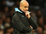 Man City bi cam du Champions League, HLV Guardiola noi gi voi hoc tro?
