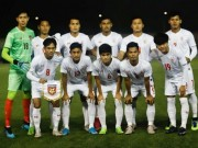 The thao - dTQG Myanmar ban do tai vong loai World Cup 2022