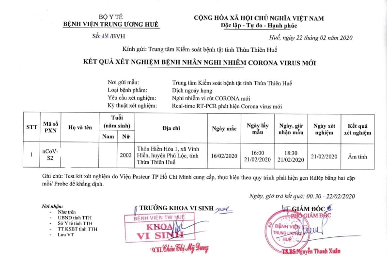 nu sinh lop 12 o hue tu vong, am tinh voi covid-19 hinh anh 1