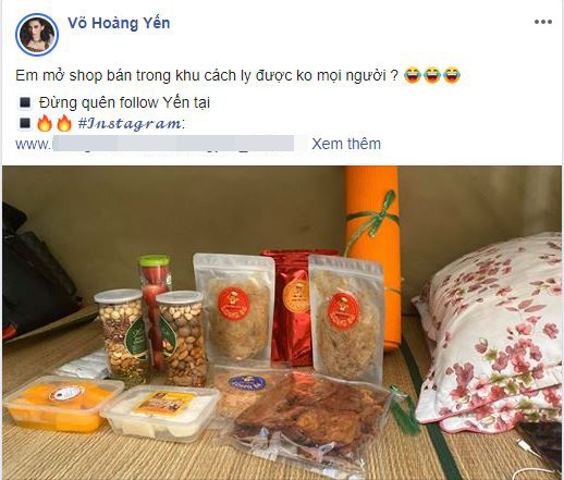 """vo hoang yen hao hung khoe """"cuoc song sung tuc"""", chia se voi ban cung cach ly covid-19 hinh anh 3"""