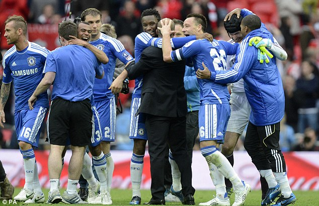 chelsea han hoan mung vo dich fa cup hinh anh 1