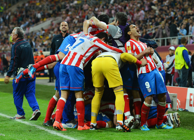 chum anh atletico madrid vo dich europa league hinh anh 1