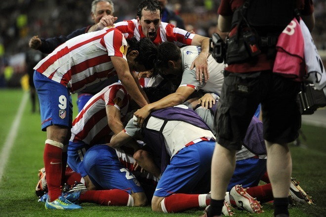 chum anh atletico madrid vo dich europa league hinh anh 2
