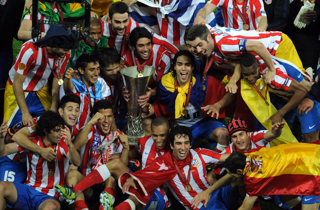chum anh atletico madrid vo dich europa league hinh anh 8