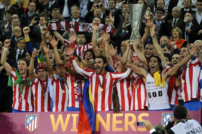 chum anh atletico madrid vo dich europa league hinh anh 10