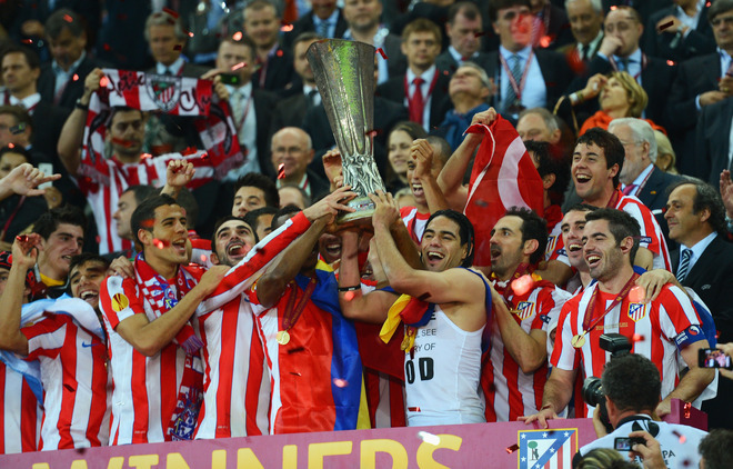 chum anh atletico madrid vo dich europa league hinh anh 11