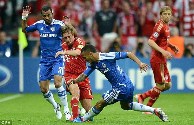 thang can nao, chelsea vo dich champions league hinh anh 1