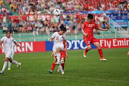 thanh huong lap cu dup, dtvn tiem can world cup hinh anh 2