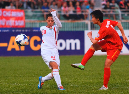 thanh huong lap cu dup, dtvn tiem can world cup hinh anh 3