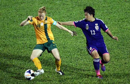 ha australia, dt nu nhat ban vo dich asian cup 2014 hinh anh 1