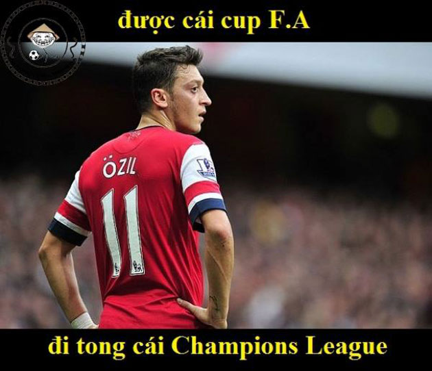 anh che: ozil tiec nuoi khi chia tay real hinh anh 1