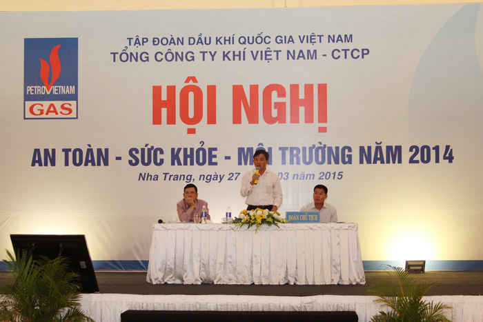"pvgas to chuc hoi nghi ""an toan – suc khoe – moi truong"" hinh anh 1"