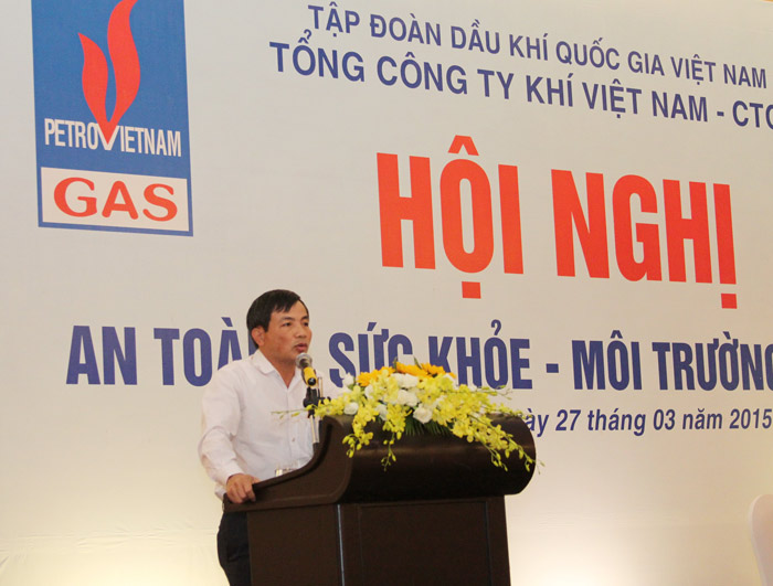 "pvgas to chuc hoi nghi ""an toan – suc khoe – moi truong"" hinh anh 2"