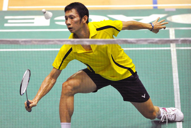 tien minh that bai ngay tai vong 1 singapore super series hinh anh 1