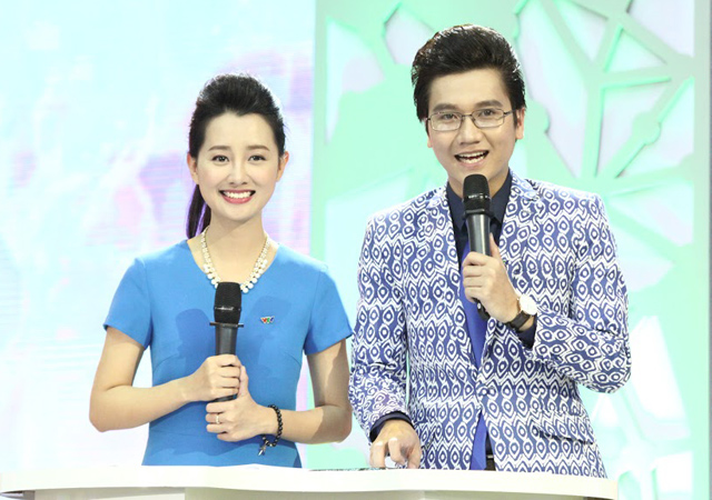 cong to, quynh chi nhi nhanh lam mc robocon vn 2015 hinh anh 4