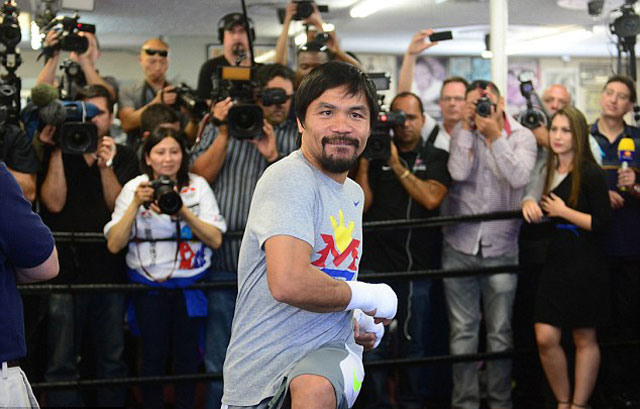 "pacquiao ""day"" mayweather cach... dung tien hinh anh 3"