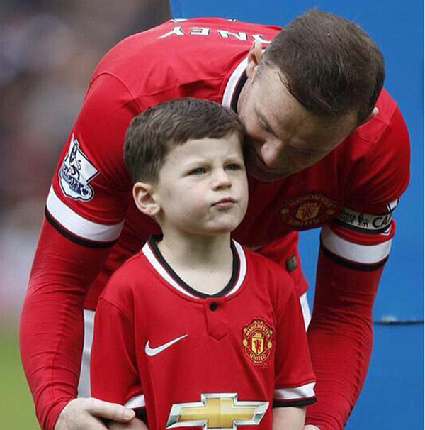 cuoc song gia dinh hanh phuc cua wayne rooney hinh anh 4